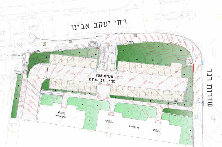 תכנית פיתוח- חניון יעקב אבינו, באר שבע