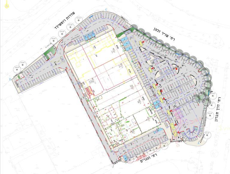 """תכנית פיתוח מבנה מסחרי """"מתחם הורדוס"""", באר שבע"""