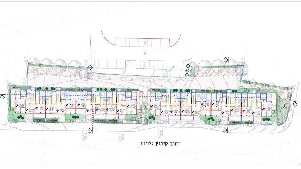 """תכנית פיתוח מבנה תמ""""א 38 - רח' קיבוץ גלויות"""