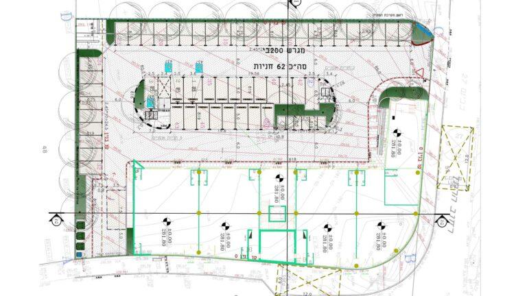 """תכנית פיתוח מבנה מסחרי- """"סטארט קאר"""""""